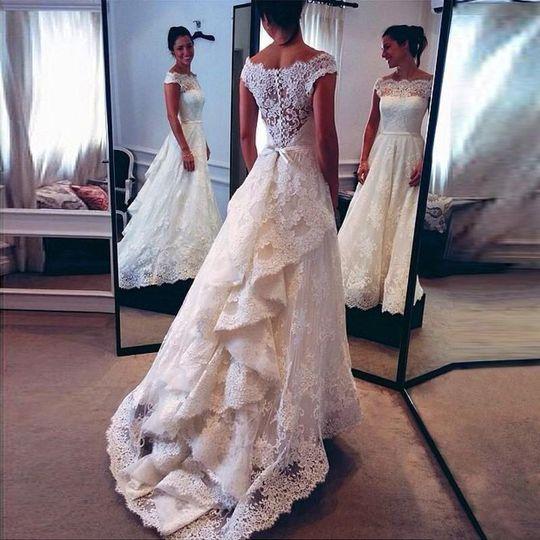 a0908f0c97c6 Hebeos - Dress & Attire - Brewer, ME - WeddingWire