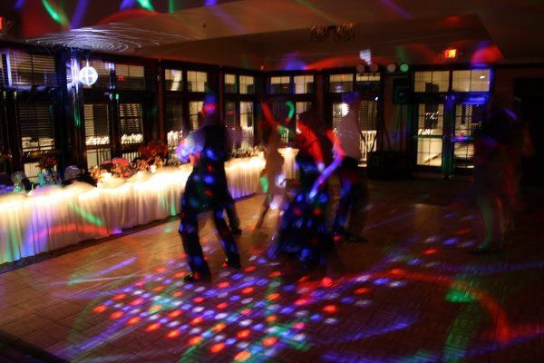 Energize your reception with lighting!