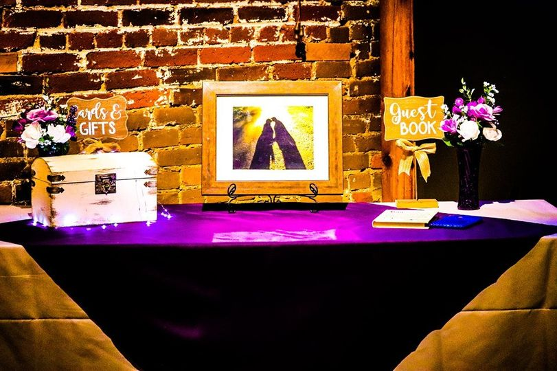 Cards & guest Book