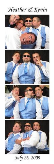 Open Air Photobooth Sample Photostrip. These strips print out in duplicate in about 15 seconds to...