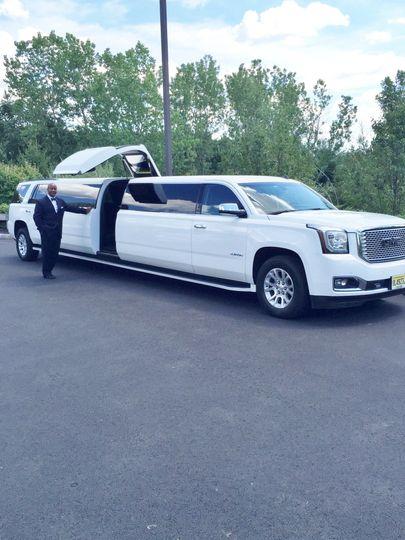 18-passenger GMC Yukon