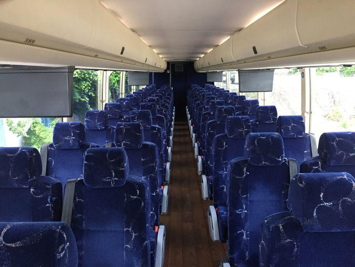 55Passengers VIP Coach Bus Int