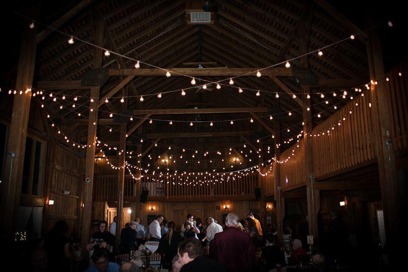 lights globe patio barns connecticut wedding photo