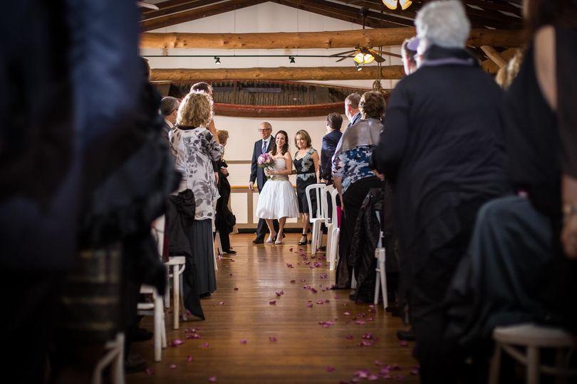 club getaway wedding ceremony 1