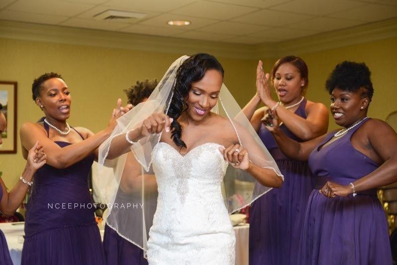 Dancing in celebration