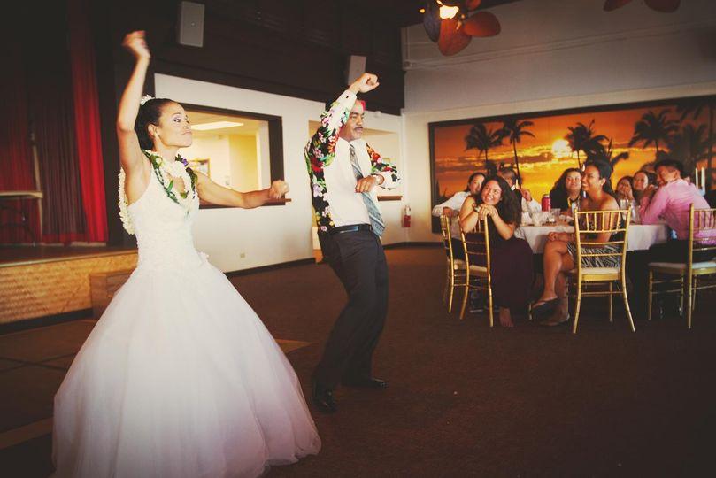 The bride (Ku'ulei Media 07.20.14)