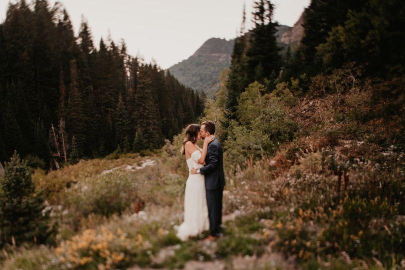 Big cottonwood canyon bridals