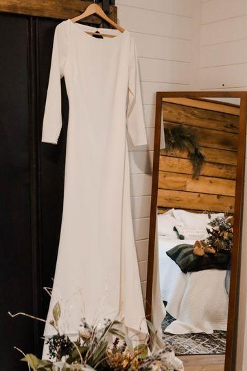 Wedding Dress Mirror