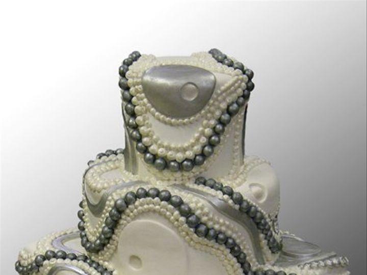 Tmx 1316386182684 BlackPerlWed Brooklyn wedding cake
