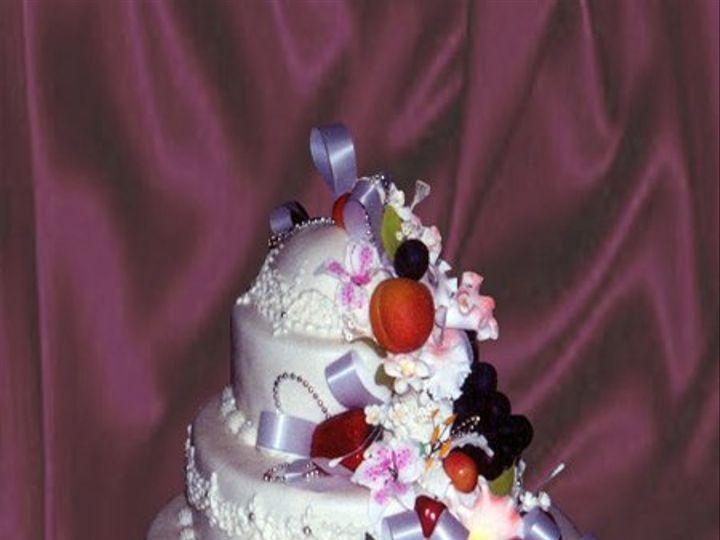 Tmx 1316386186309 Fruitwed Brooklyn wedding cake