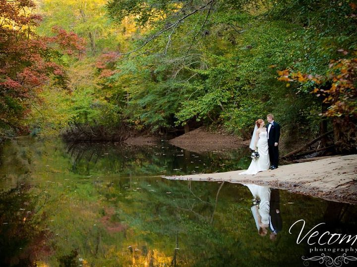 Tmx 1416668199030 Bride And Groom Pose On Rock In River Snellville, GA wedding venue