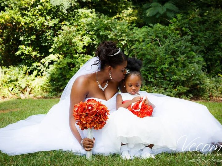 Tmx 1416669386362 Bride Sitting In Grass With Flowergirl Snellville, GA wedding venue