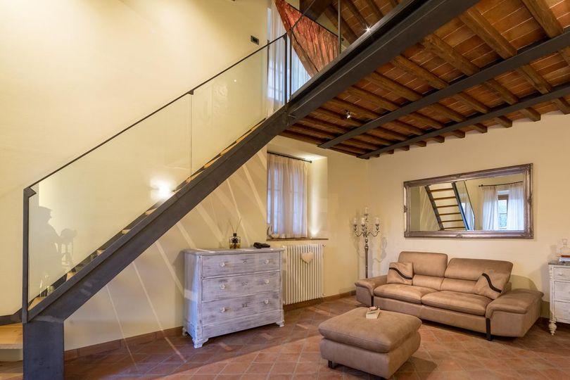 Unique interior architecture