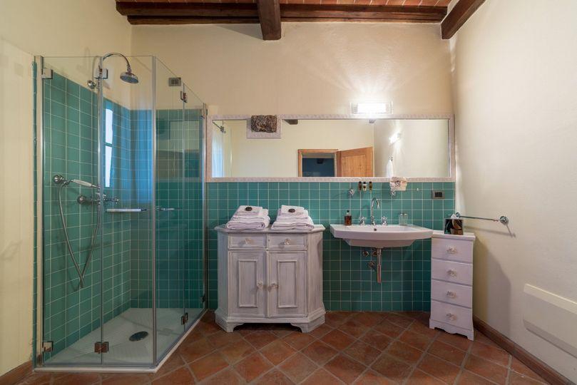 Bathroom with vanity set