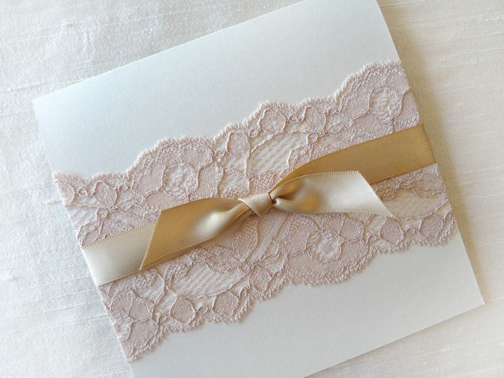 Tmx 1426807171973 Pinklace2 Temple City wedding invitation