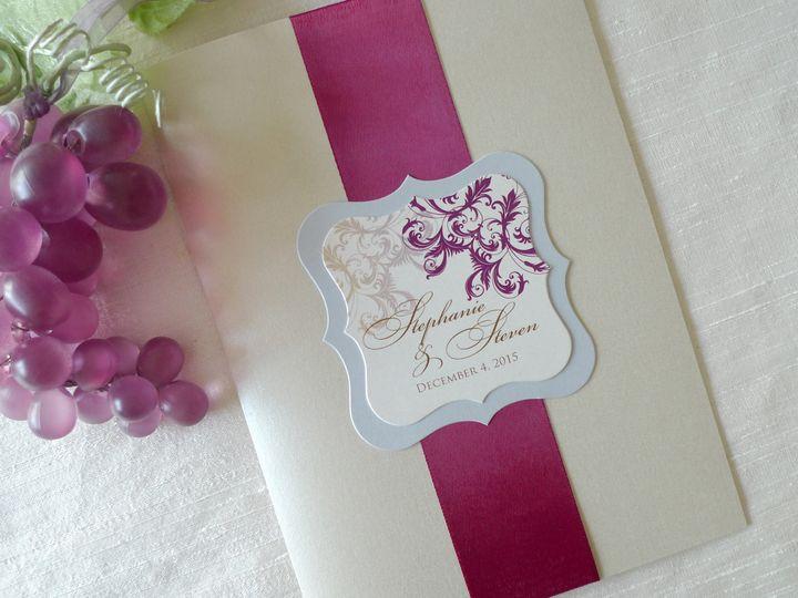 Tmx 1426807356325 Courtneywine1 Temple City wedding invitation