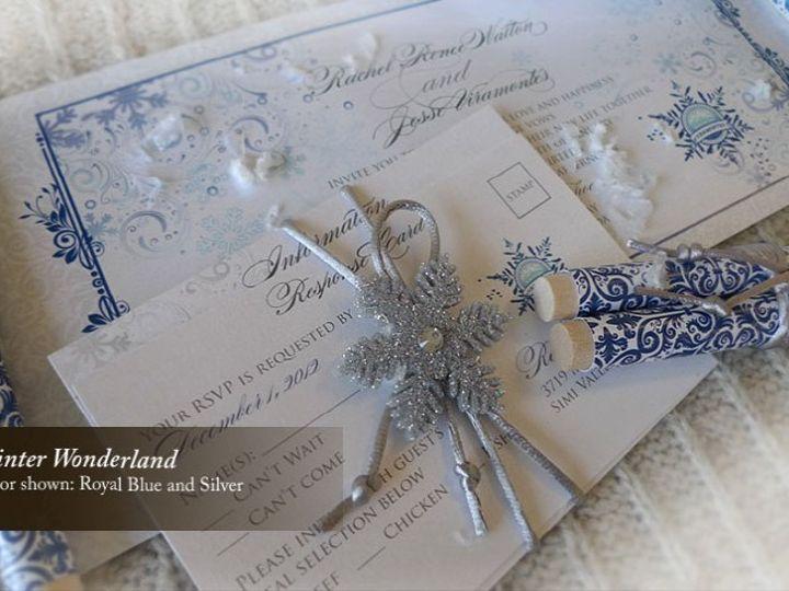 Tmx 1428192193695 Winterwonderland1 Temple City wedding invitation