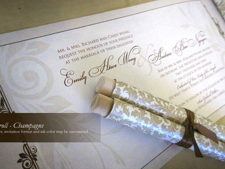 Tmx 1428192212815 Champagn1 Temple City wedding invitation