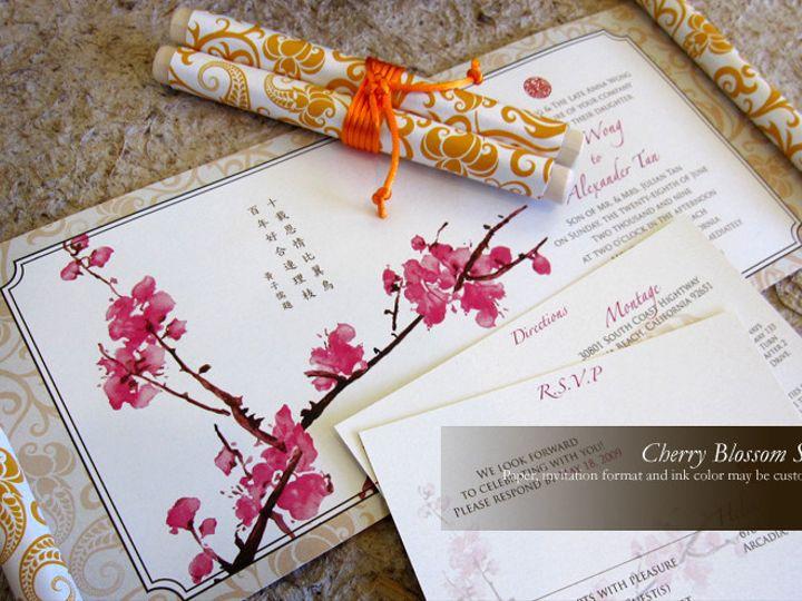 Tmx 1428192224459 Cb2 Temple City wedding invitation