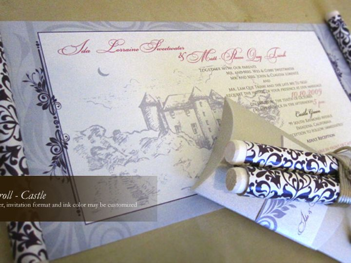 Tmx 1428192234567 Castle1 Temple City wedding invitation