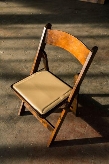 Folding Fruitwood Chair