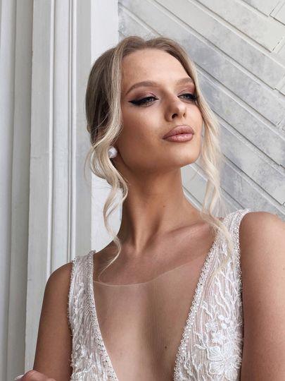 Bride Lisa. Summer 2020
