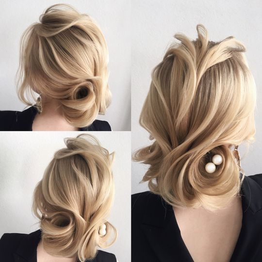 Exquisite hairstyle