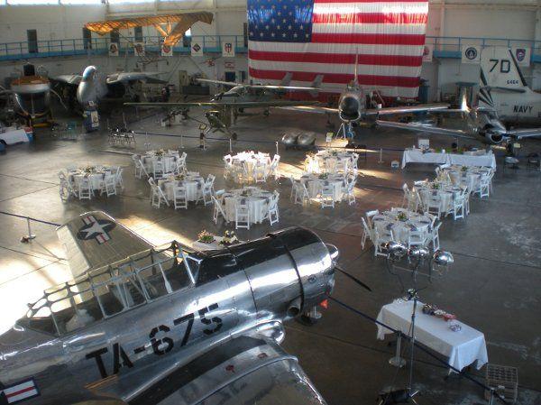 Unique Venue- an Airplane Hangar