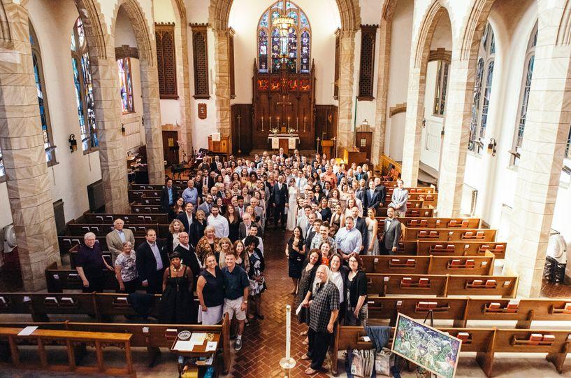 Church wedding | Dorey Kronick