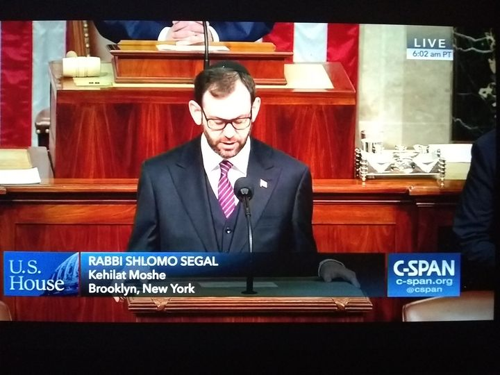 Rabbi Addressing Congress