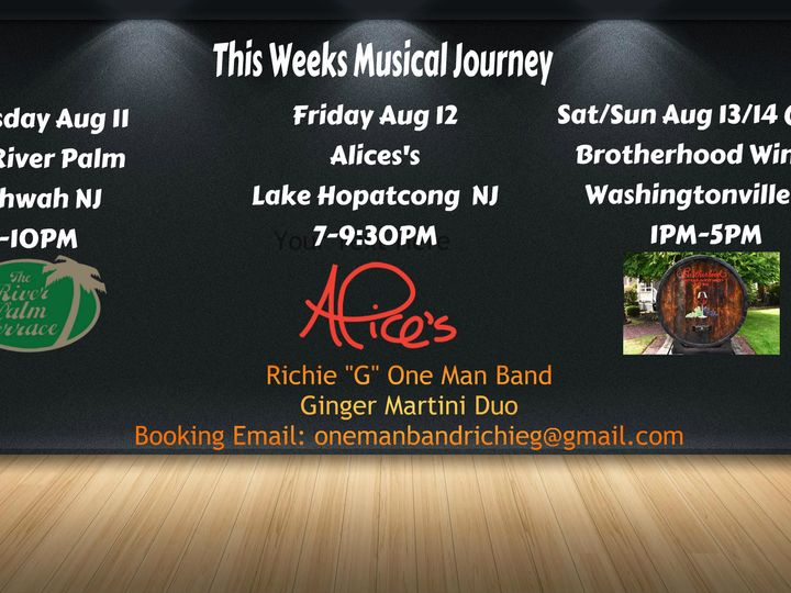 Tmx 1470766360065 Gigs We Aug14 Mahwah wedding ceremonymusic