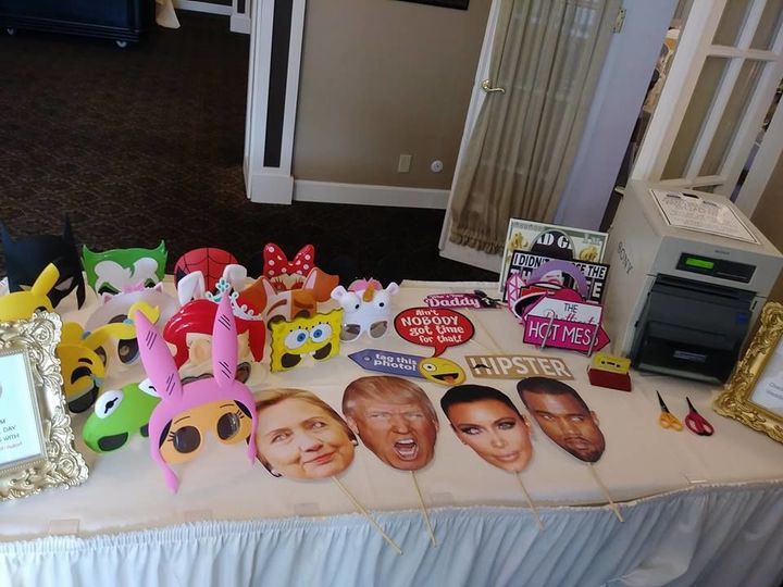 Photo & Video Booth Props