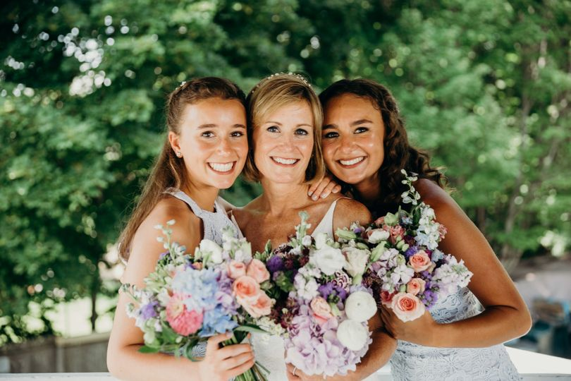 Sarah and her lovely daughters, Wolfeboro, NH