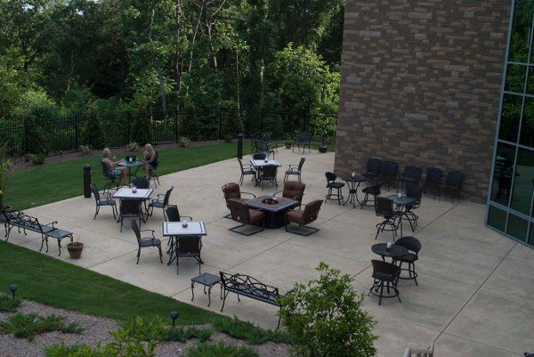 Cherokee Conference Center Patio