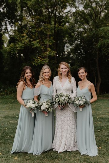The bridal party - Nicole Nero Studio