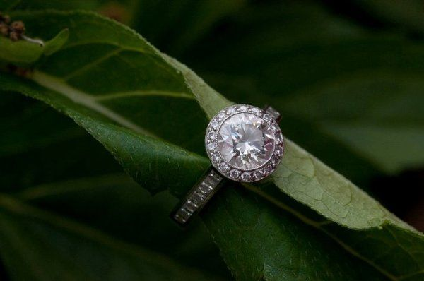 Minh's beautiful diamond ring