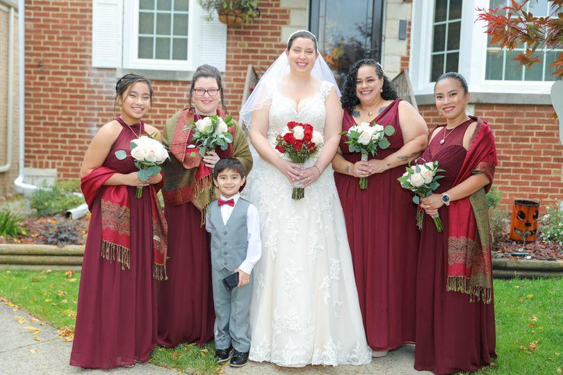 Brides before wedding