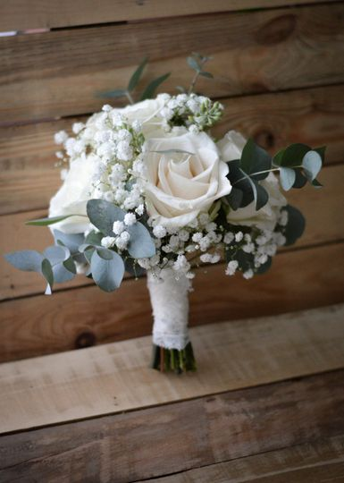 White roses | Handmade by The Heirloom Co