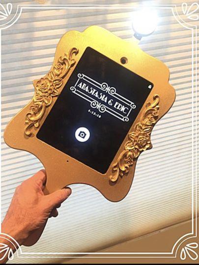 Bride's Vanity Mirror