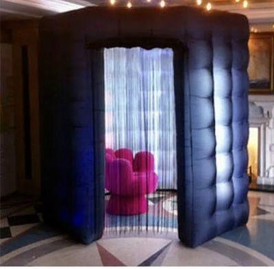 Octagon Booth - Black