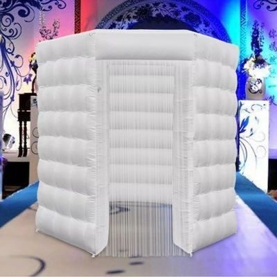 Octagon Booth - White