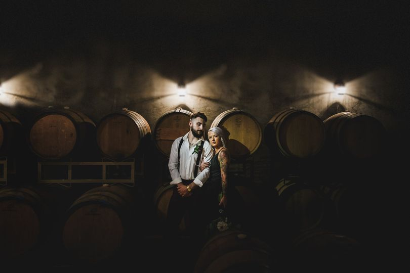 By the barrels