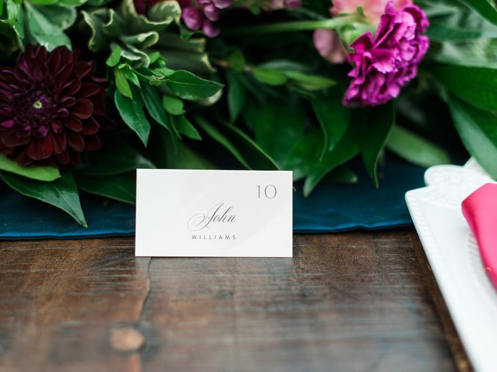 Tmx Place Card 51 1069225 1568666802 Raleigh, NC wedding planner