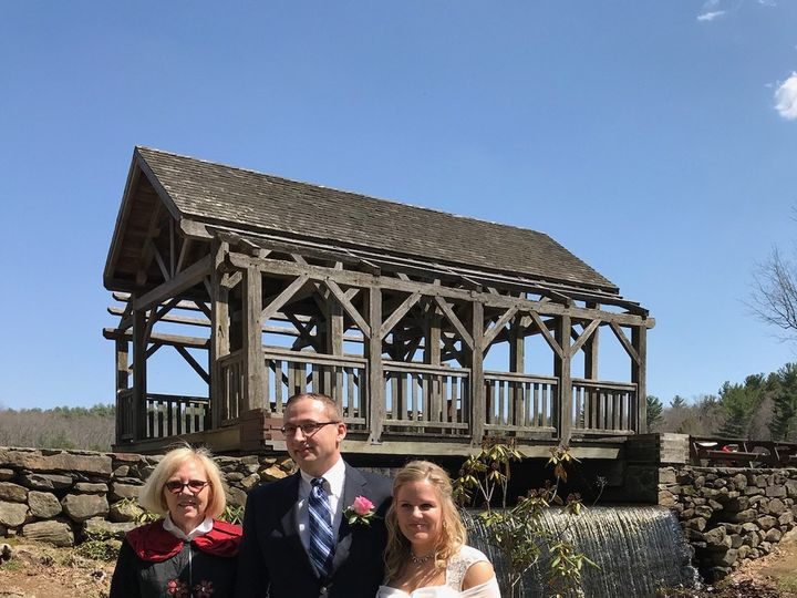 Tmx Wedding Kristen And Daniel 2018 51 1021325 Gardner, Massachusetts wedding officiant