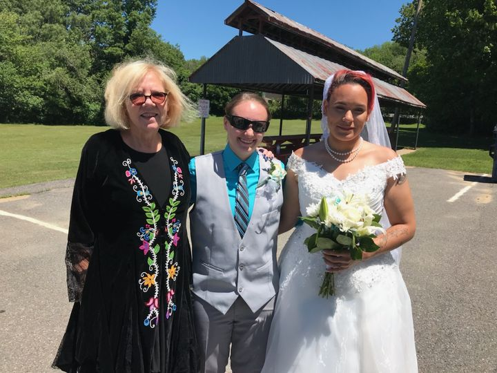 Tmx Weddings Sandy Kelsy And Me  51 1021325 Gardner, Massachusetts wedding officiant