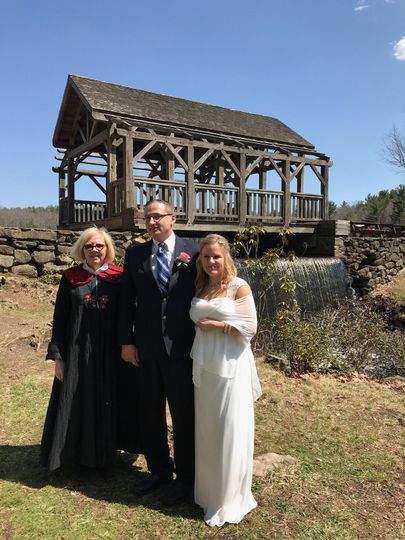 Wedding at Moore State Park