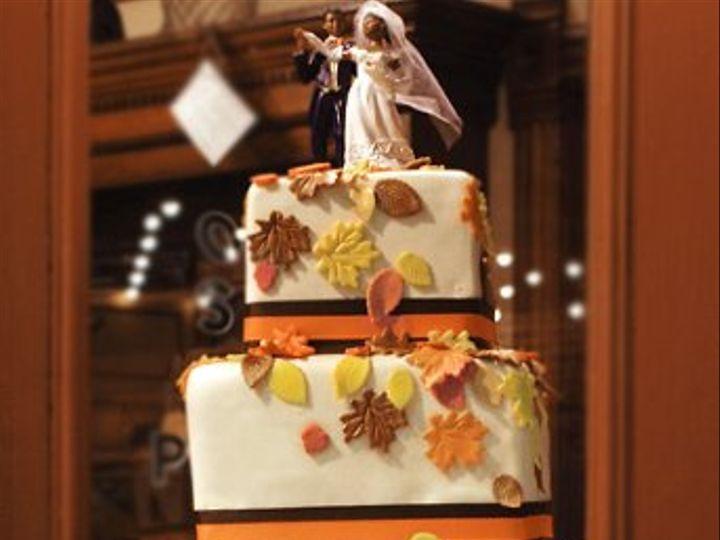 Tmx 1320638149325 LeafCake10102111 Ann Arbor wedding cake
