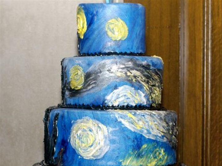 Tmx 1320683154172 StarryNightCake12102111 Ann Arbor wedding cake