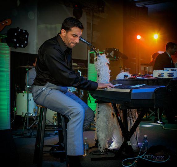 Band pianist