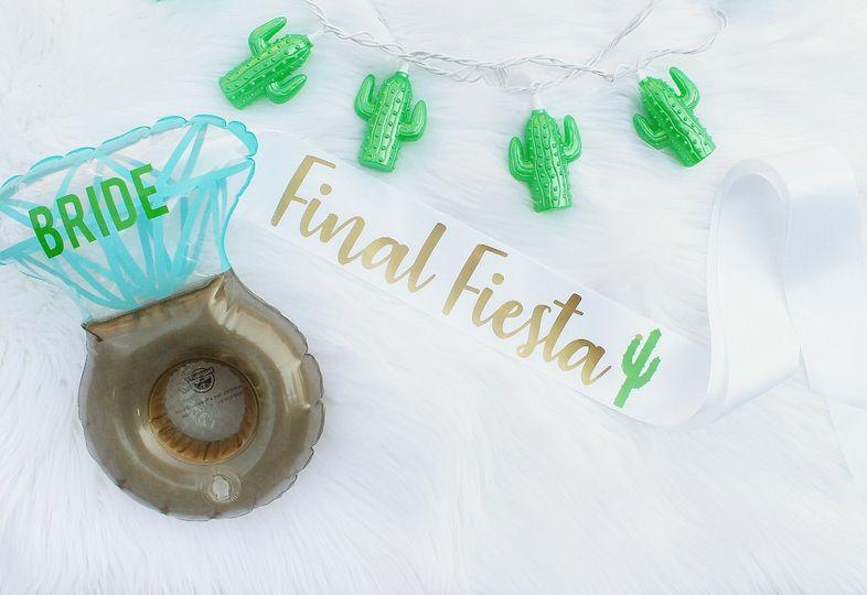 Final Fiesta Sash